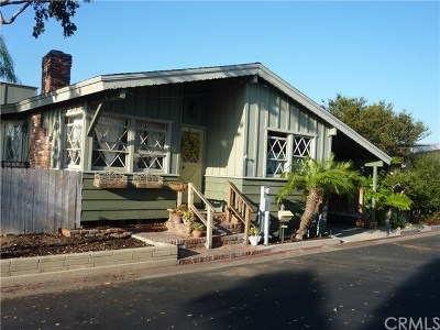 Newport Beach Mobile Home For Sale: 92 Yorktown