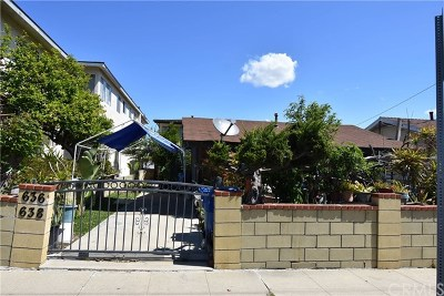 San Pedro Multi Family Home For Sale: 640 W 22nd Street