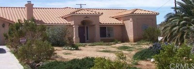 Yucca Valley CA Single Family Home For Auction: $365,700