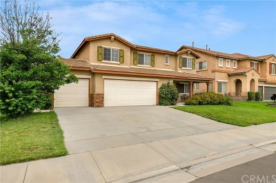 Eastvale Single Family Home Active Under Contract: 6695 Leanne Street