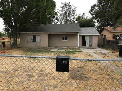 San Bernardino Single Family Home For Sale: 1103 E 3rd Street