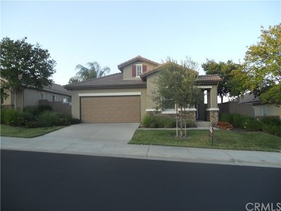 Menifee Single Family Home For Sale: 29338 Warmsprings Drive