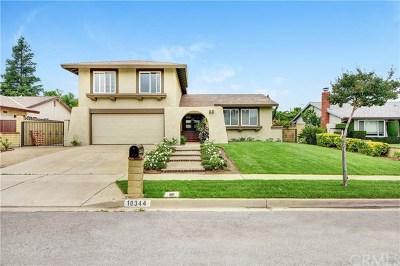 Rancho Cucamonga Single Family Home For Sale: 10344 Mignonette Street