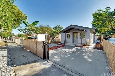 Los Angeles Single Family Home For Sale: 1546 W 59th Place