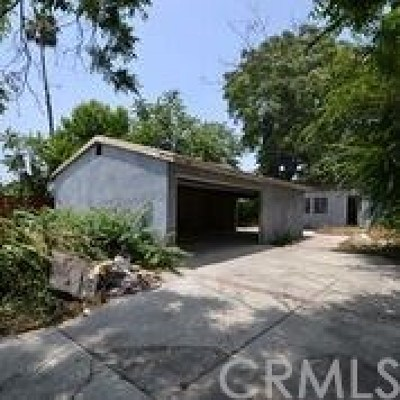 Pasadena Single Family Home For Auction: 3589 Milton Street