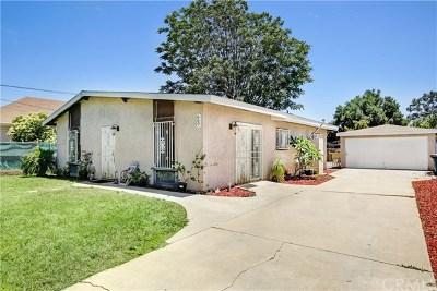 Pomona Single Family Home For Sale: 660 E 11th Street