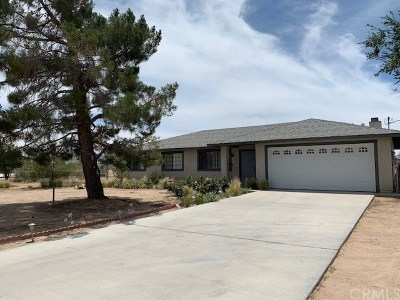 Apple Valley CA Single Family Home For Sale: $299,000
