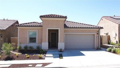 Corona Single Family Home For Sale: 24297 Sunset Vista Drive