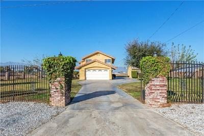 Riverside Single Family Home For Sale: 19734 El Rivino Road