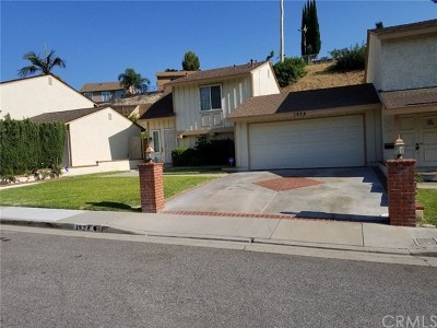 West Covina Single Family Home For Sale: 1924 E Woodgate Drive