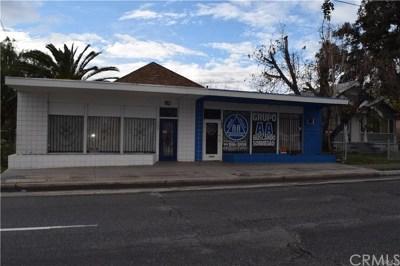 San Bernardino Commercial For Sale: 180 S Mount Vernon Avenue