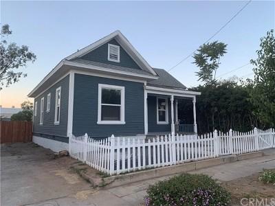 Redlands Single Family Home For Sale: 521 E Central Avenue