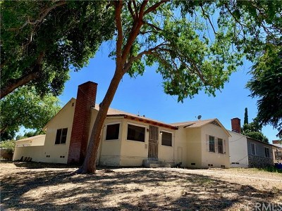 San Bernardino Single Family Home For Sale: 1207 W 26th Street