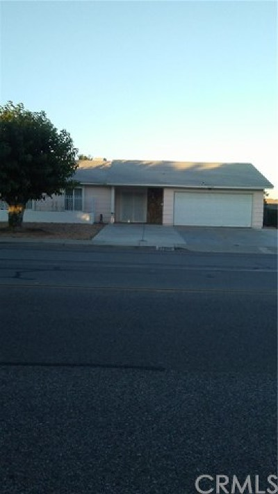 Menifee Single Family Home For Sale: 27800 Murrieta Road
