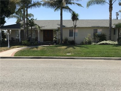 Downey Single Family Home Active Under Contract: 9544 Suva Street