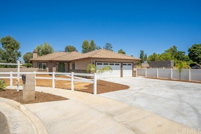 Riverside Single Family Home For Sale: 4635 Duarte Court