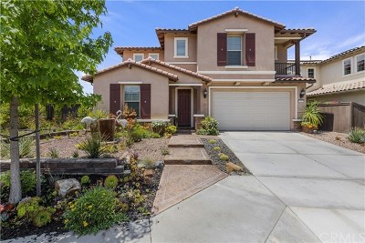 Vista Single Family Home For Sale: 550 Adobe Estates Drive