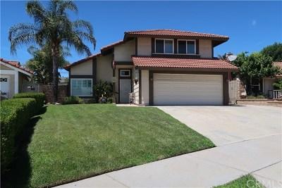 Rancho Cucamonga Single Family Home Active Under Contract: 6950 La Paz Court