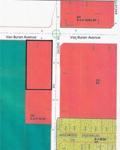 Riverside Residential Lots & Land For Sale: 18451 Van Buren Boulevard