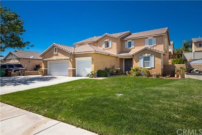 Moreno Valley Single Family Home For Sale: 26180 Fir Avenue