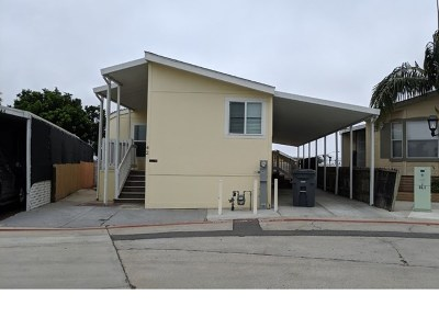 San Diego CA Mobile Home For Sale: $165,000