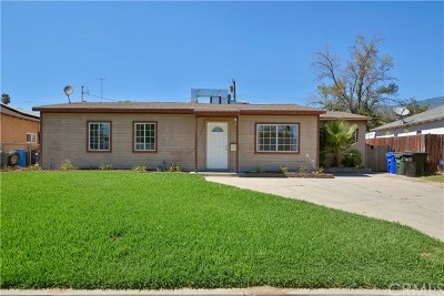 San Bernardino Single Family Home For Sale: 1262 E Eureka Street