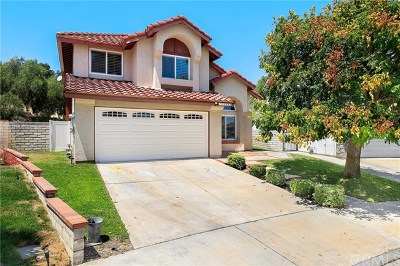 Chino Hills Single Family Home For Sale: 15900 Oak Canyon Drive