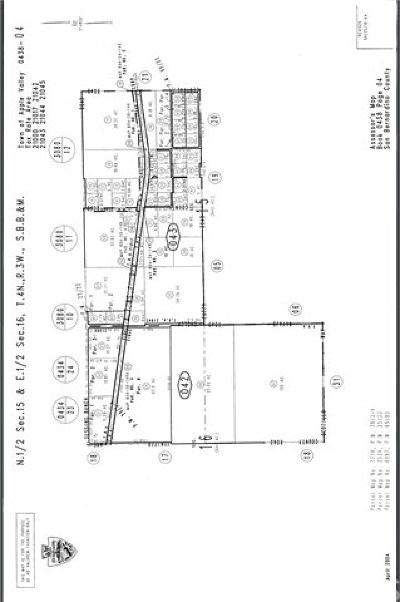 Apple Valley Residential Lots & Land For Sale: Pioneer Rd