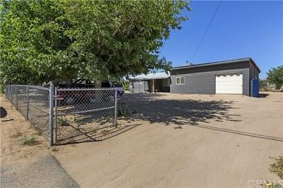 Hesperia Single Family Home For Sale: 10352 Cottonwood Avenue