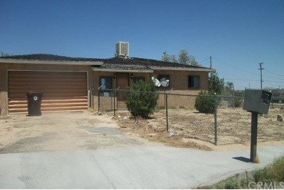 29 Palms CA Single Family Home For Sale: $82,500