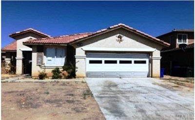 Adelanto CA Single Family Home For Sale: $246,400