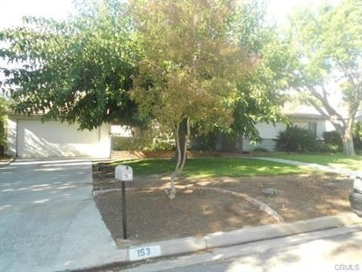 Riverside Rental For Rent: 153 E Campus View