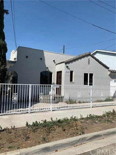 Long Beach Single Family Home For Sale: 2115 E 15th Street