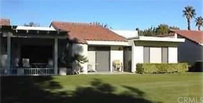 Palm Desert CA Condo/Townhouse For Sale: $170,000