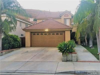 Chino Hills Single Family Home For Sale: 18088 Conestoga Lane