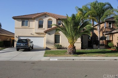 Murrieta CA Single Family Home For Sale: $539,900