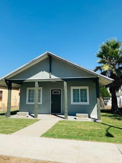 Rialto Single Family Home For Sale: 121 S Orange Avenue