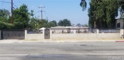 El Monte Single Family Home For Sale: 2521 Maxson Road