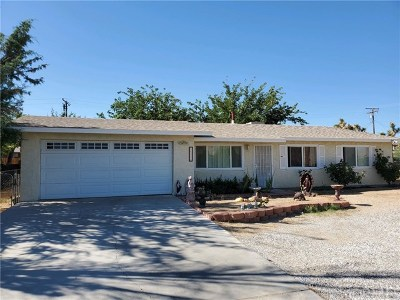 Yucca Valley CA Single Family Home For Sale: $185,000