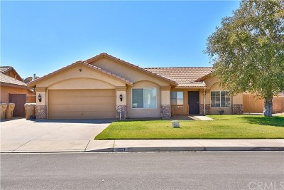 Hesperia CA Single Family Home For Sale: $299,910
