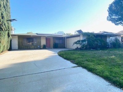 Loma Linda Single Family Home For Sale: 11595 Poplar Street