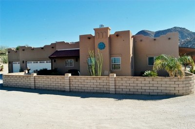 Joshua Tree Single Family Home For Sale: 7030 Mile Square Road
