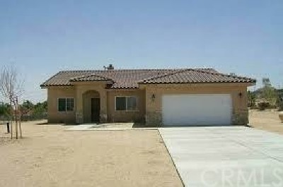 Joshua Tree Single Family Home For Sale: 7131 Mecca Road