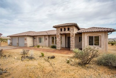Joshua Tree Single Family Home For Sale: 6863 Outpost Road