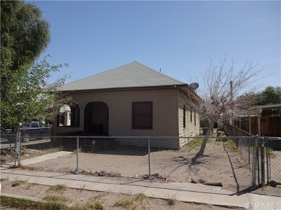 Needles Single Family Home For Sale: 507 Acoma Street