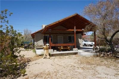 Joshua Tree Single Family Home For Sale: 61928 Terrace Drive