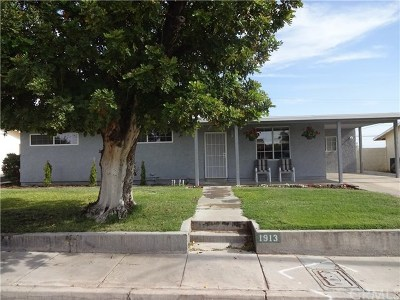 Needles Single Family Home For Sale: 1913 Cortez Street