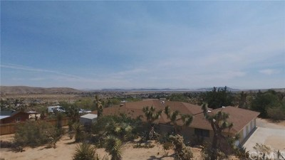 Joshua Tree Single Family Home For Sale: 6880 Outpost Road