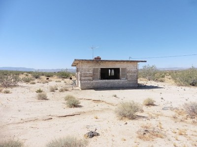 Joshua Tree Single Family Home For Sale: 67133 Mars Road