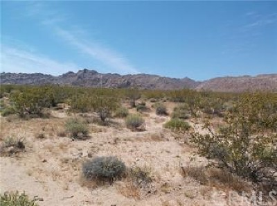 San Bernardino County Residential Lots & Land For Sale: Copper Mountain Road